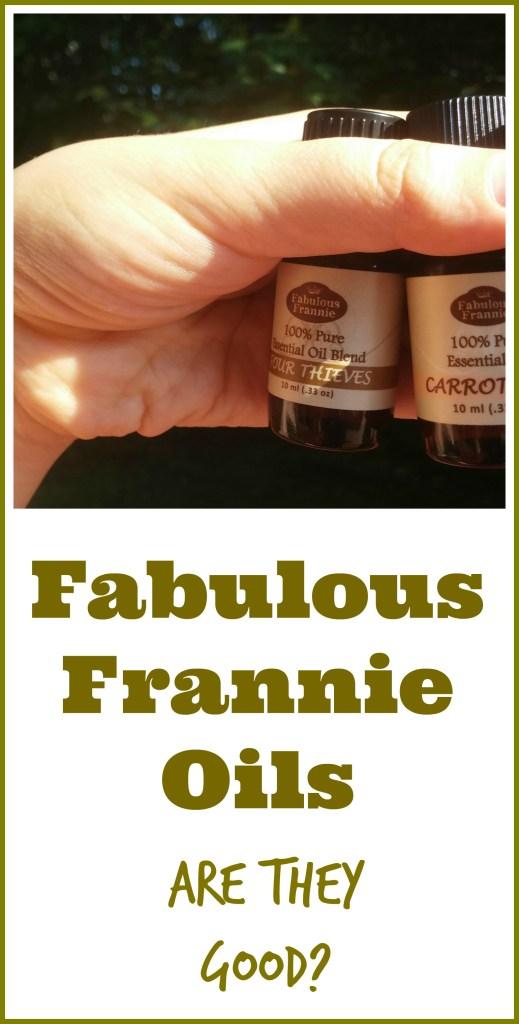 Fabulous Frannie oil reviews