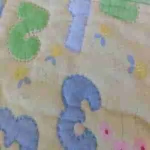 123 Green Light Go Baby Quilt