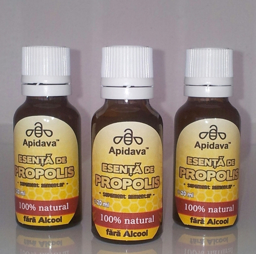 Imunitate cuRoyale Cocktail și esența de propolis