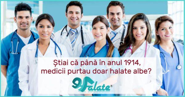 Printre halatele cadrelor medicale