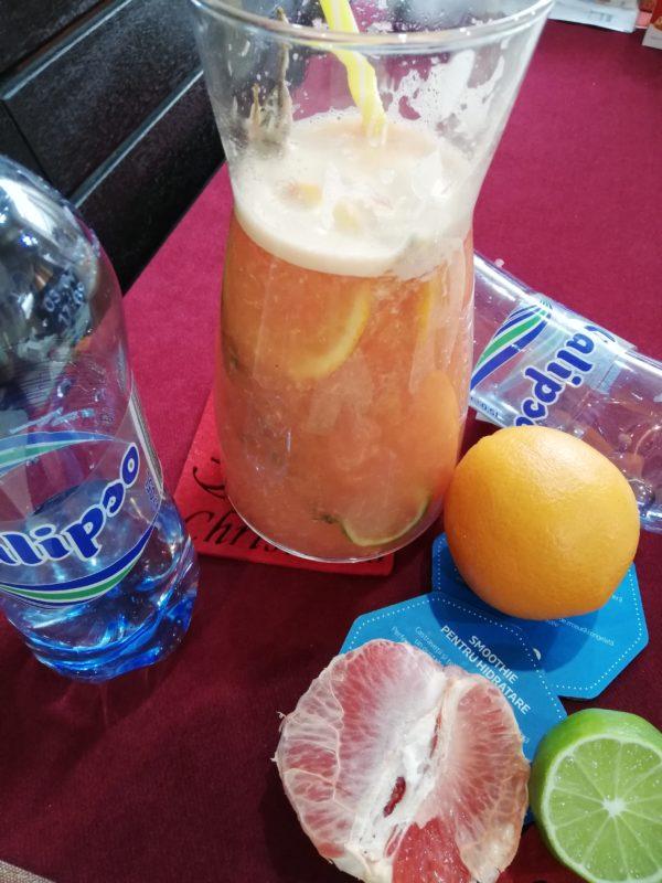 Știi cum ții gripa și virozele departe? Cu băuturi delicioase și apă Calipso