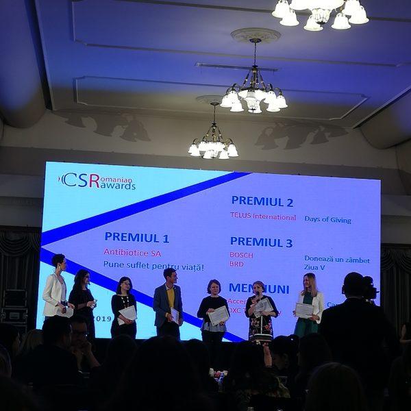Gala CSR Awards 2019- un eveniment tare drag