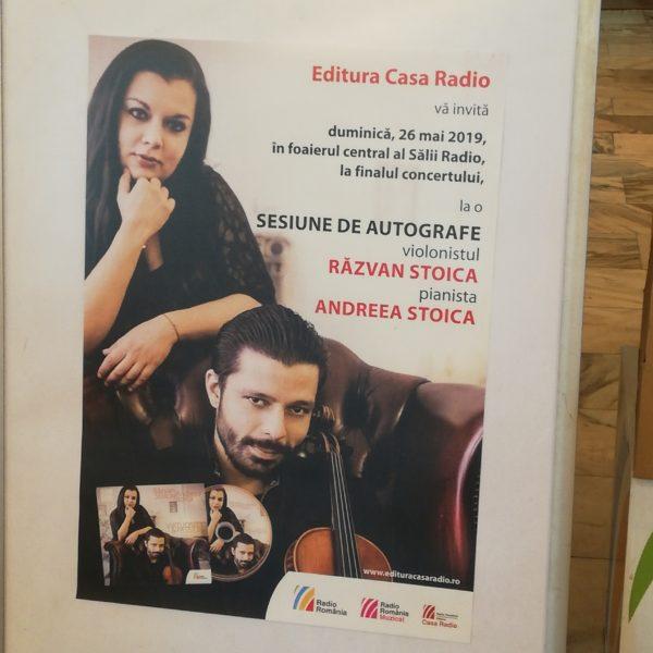 Pasiune, artă, măiestrie: concert Duo Stoica