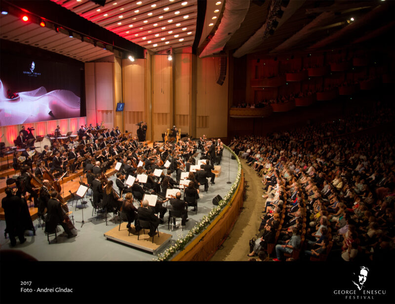 16 Septembrie Israel Philarmonic Orchestra foto Andrei Gindac ARTEXIM și OMA Vision refac echipa pentru Festivalul Enescu