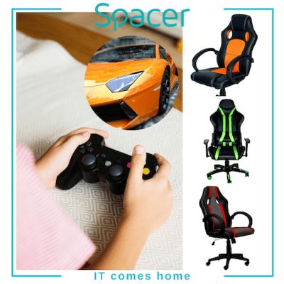 scaun gaming spacer Poveste de primăvară: IT comes home!