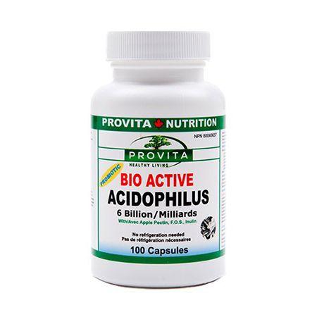 bio active acidophilus 100cps Sistemul digestiv și ajutorul produselor naturiste (Eherbal)