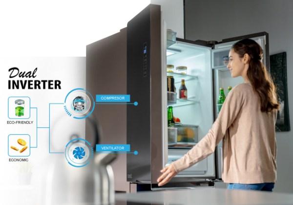 ref dual inverter 1 Bucătărie de vis cu electrocasnice unice Toshiba