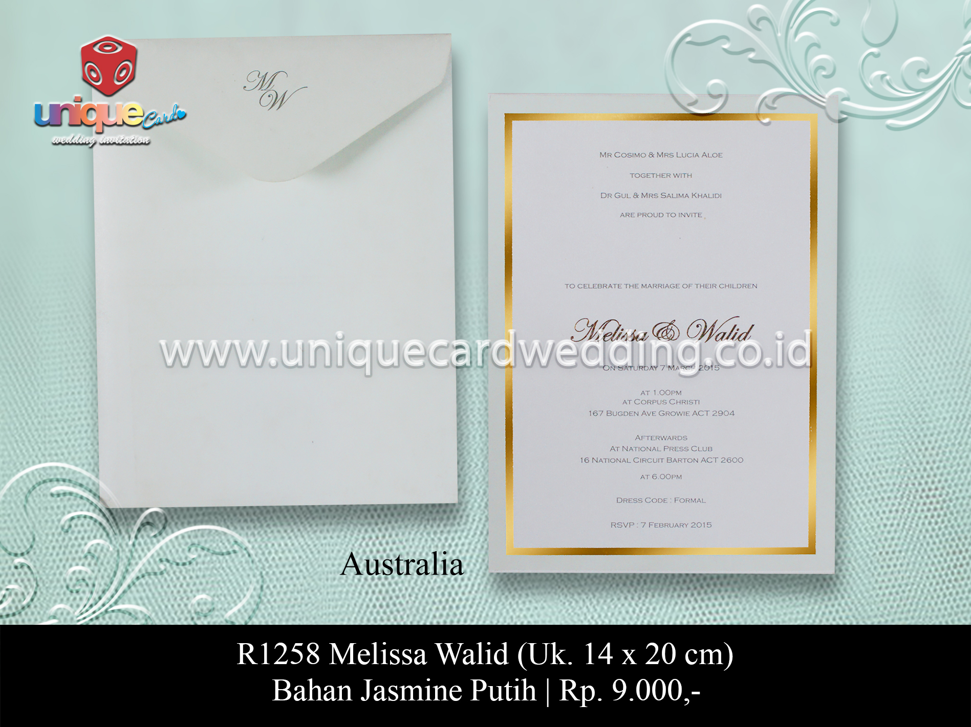 Home - Unique Card Wedding Invitation