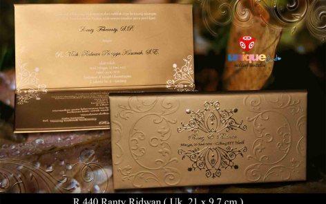 undangan pernikahan Ranti Ridwan