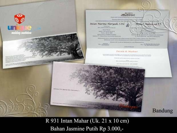 undangan Intan Mahar