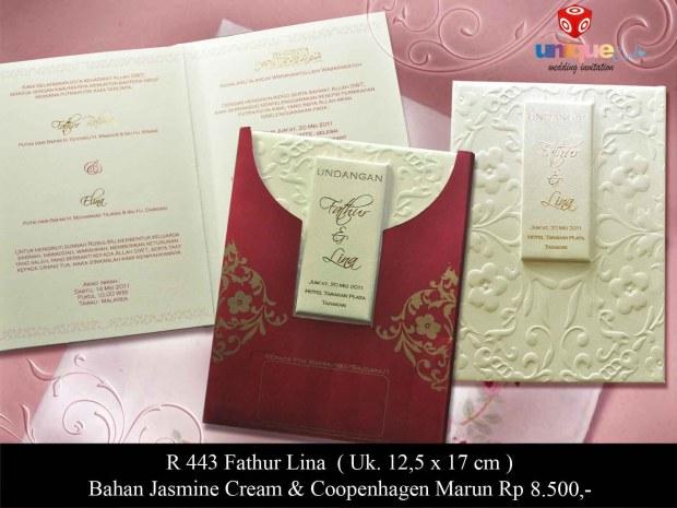 undangan unik Fathur Lina