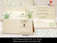 undangan pernikahan Marteen Ratna
