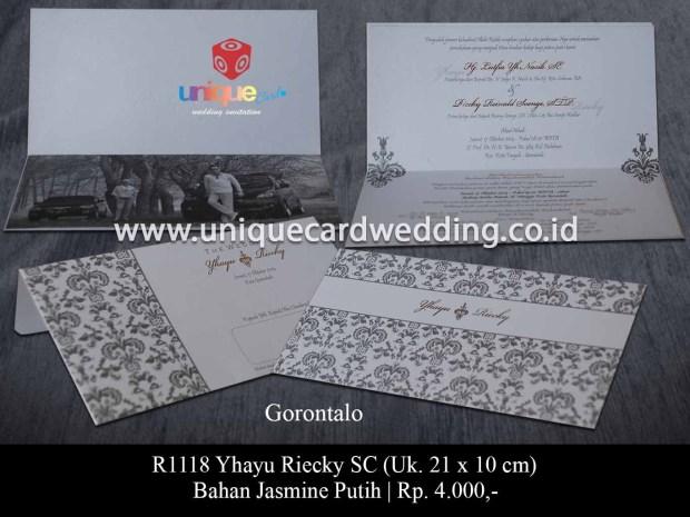 undangan pernikahan Yhayu Riecky