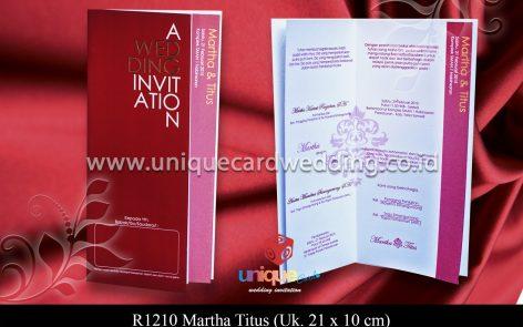 undangan Martha - Titus