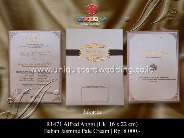 undangan perkawinan Alfred Anggi