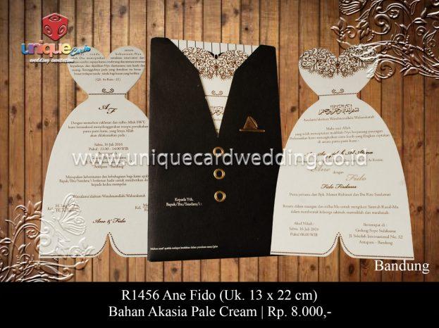 undangan pernikahan Ane Fido