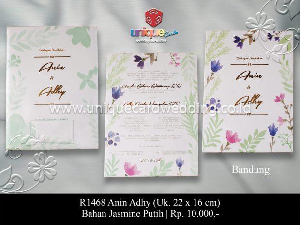 undangan perkawinan Anin Adhy