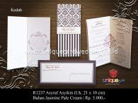 undangan pernikahan Asyraf Asyikin