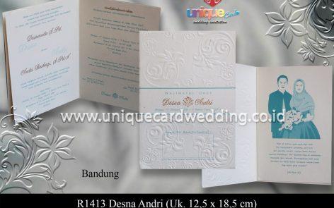 undangan pernikahan Desna Andri