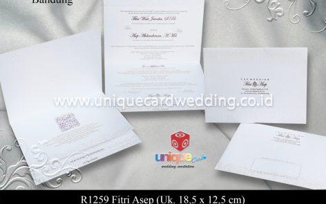 undangan pernikahan Fitri Asep