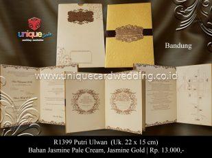 undangan perkawinan Putri Ulwan