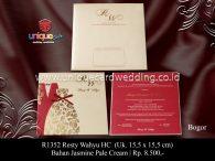 undangan perkawinan Resty Wahyu