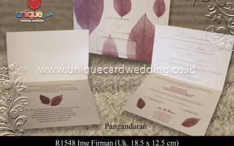 Undangan Pernikahan Ime Firman
