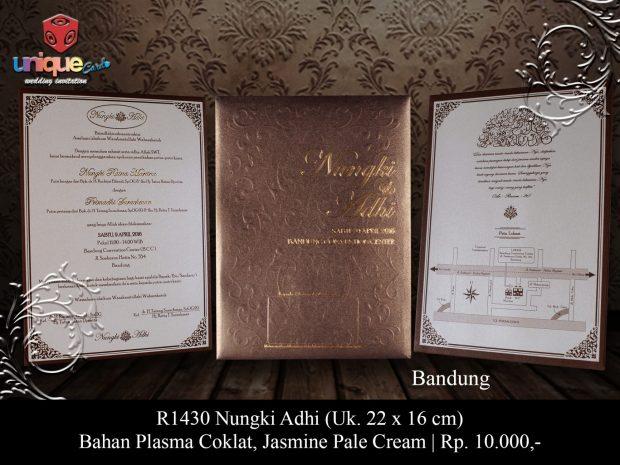 Undangan Pernikahan Nungki Adhi