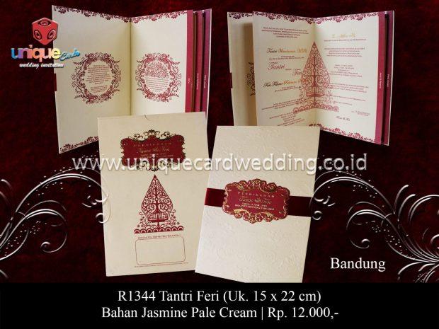 Undangan Pernikahan Tantri Feri