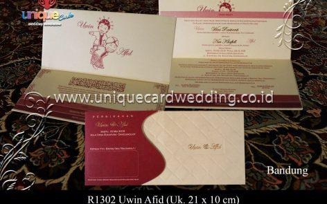 Undangan Pernikahan Uwin Afid