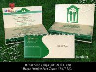 undangan pernikahan Alfie Cahya