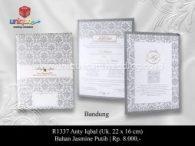 undangan pernikahan Anty Iqbal