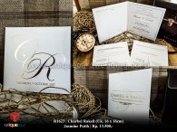charbel rakell wedding invitation