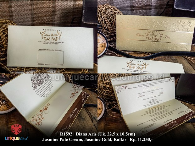 undangan pernikahan diana aris