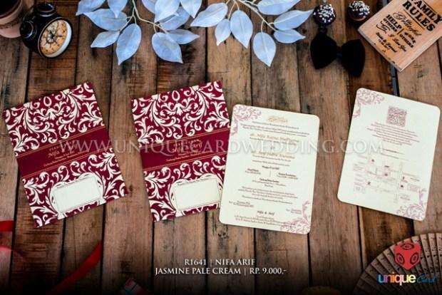 undangan pernikahan nifa arif
