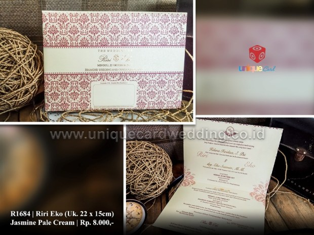 undangan pernikahan rini eko