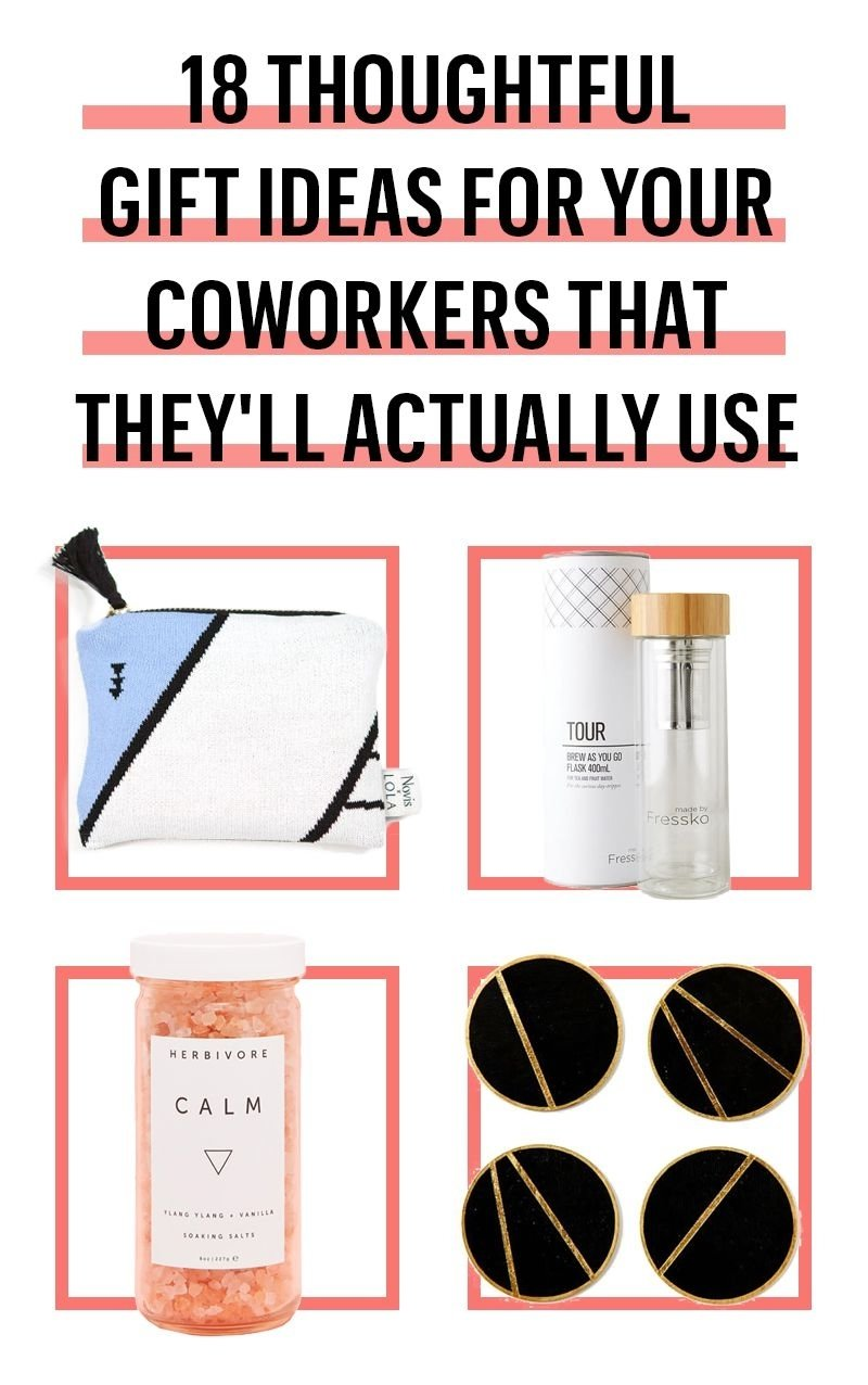 10 trendy gift ideas for male coworkers