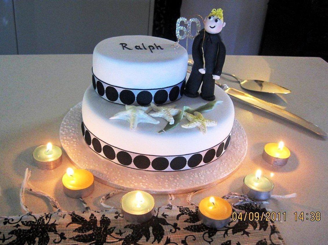 10 Spectacular 60th Birthday Cake Ideas For Men
