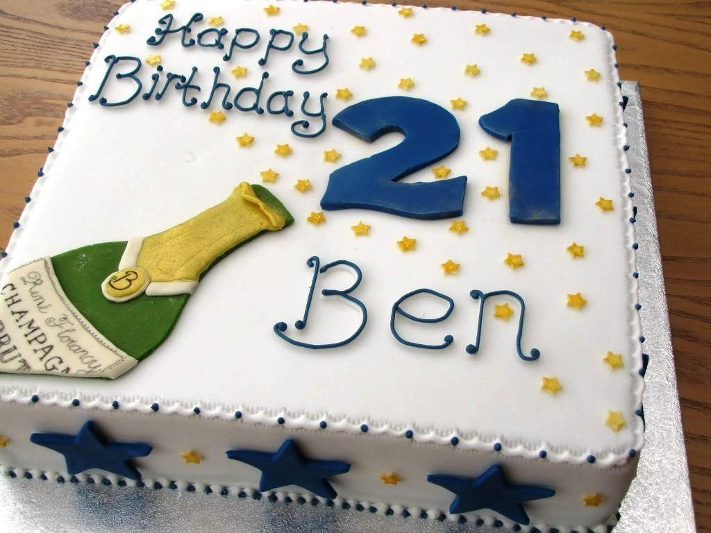 Birthday Cake Decorating Ideas For Men