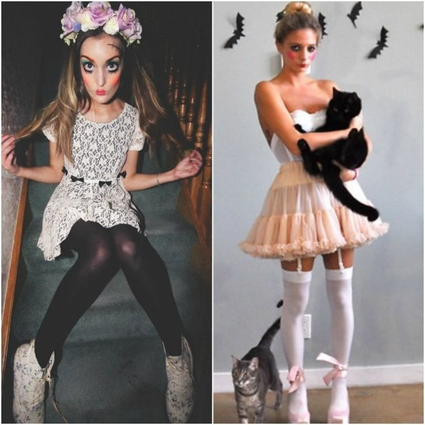 10 great creepy doll halloween costume ideas
