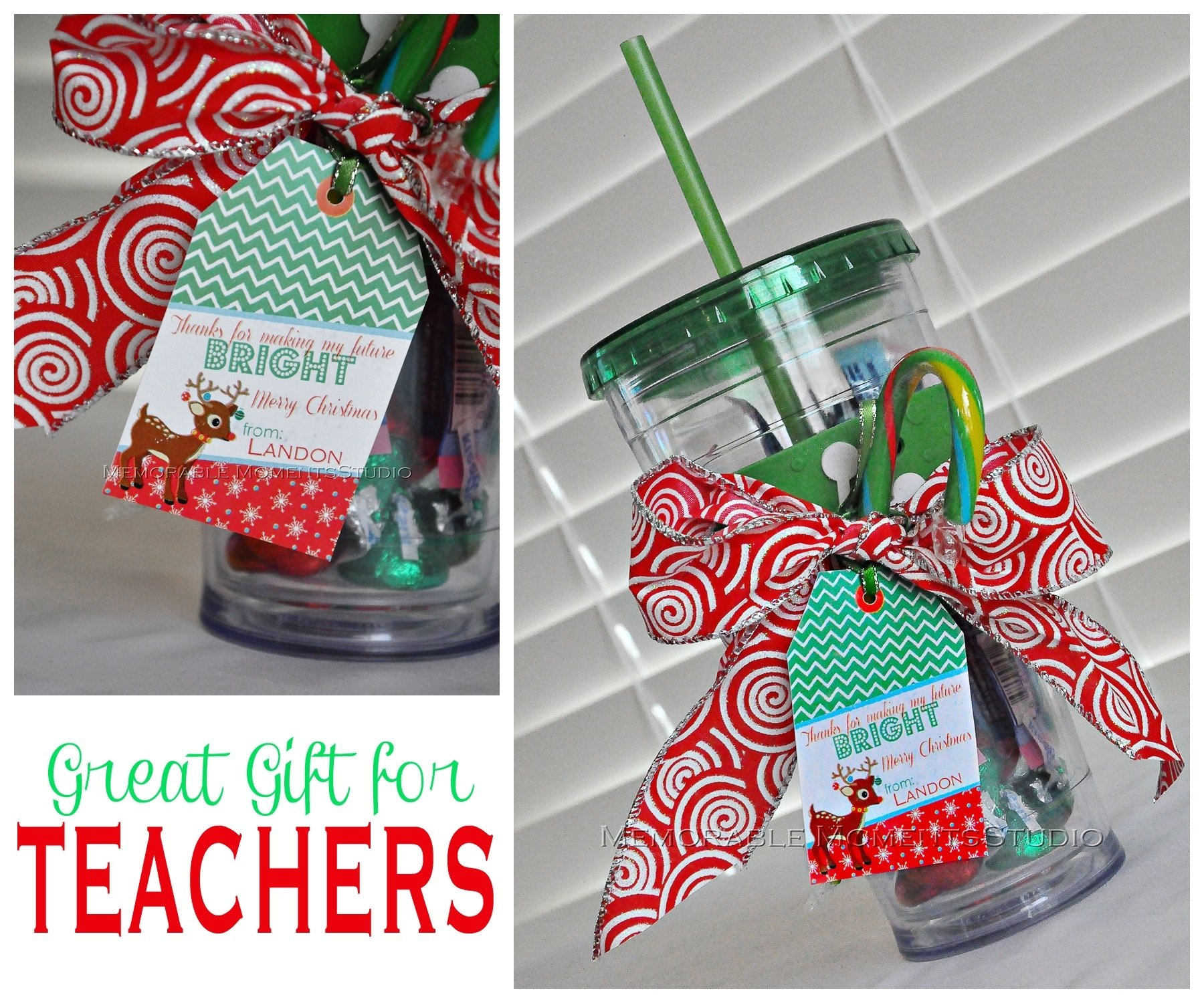 Great ideas for teacher christmas gifts