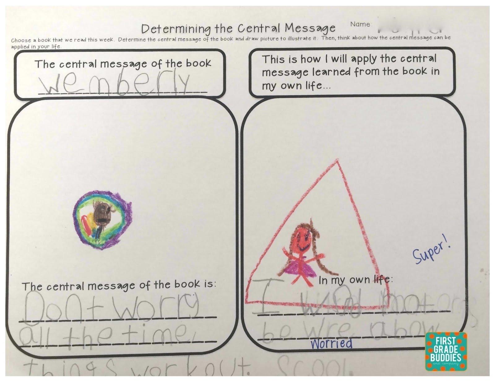 10 Stunning Main Idea For First Grade
