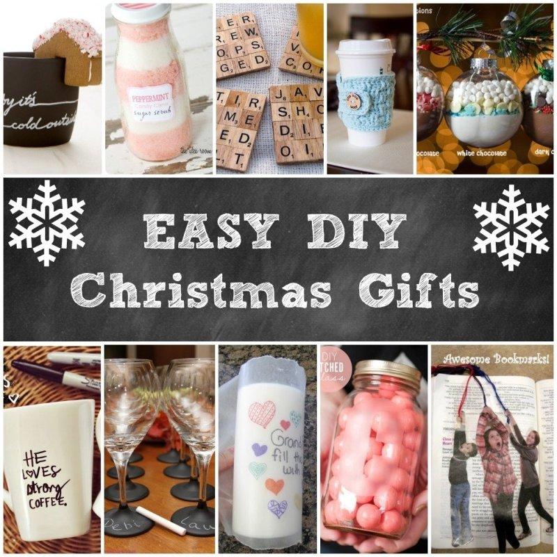 Easy Do It Yourself Christmas Gift Ideas | Giftsite.co