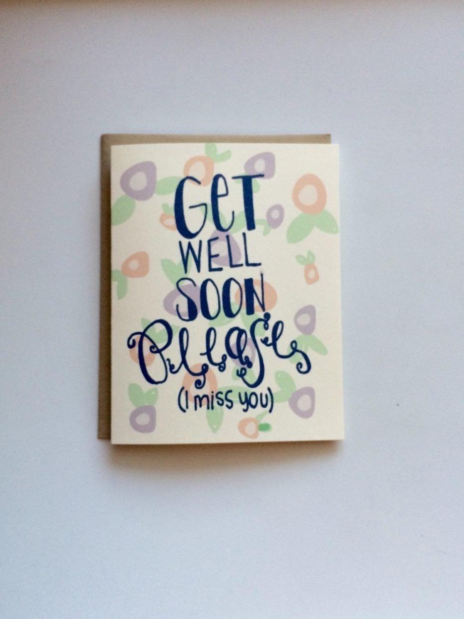 Get Well Soon Cards Ideas Billingss