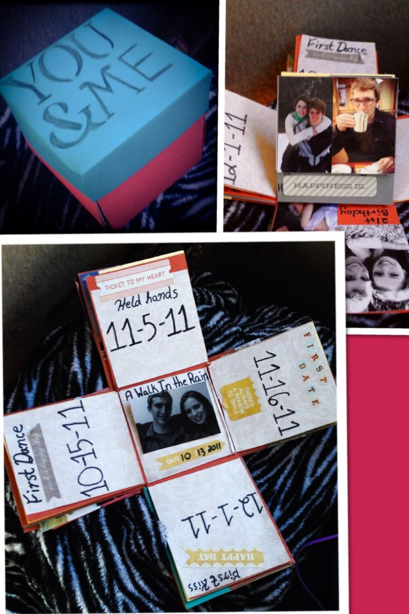 creative gift ideas for one year anniversary with boyfriend
