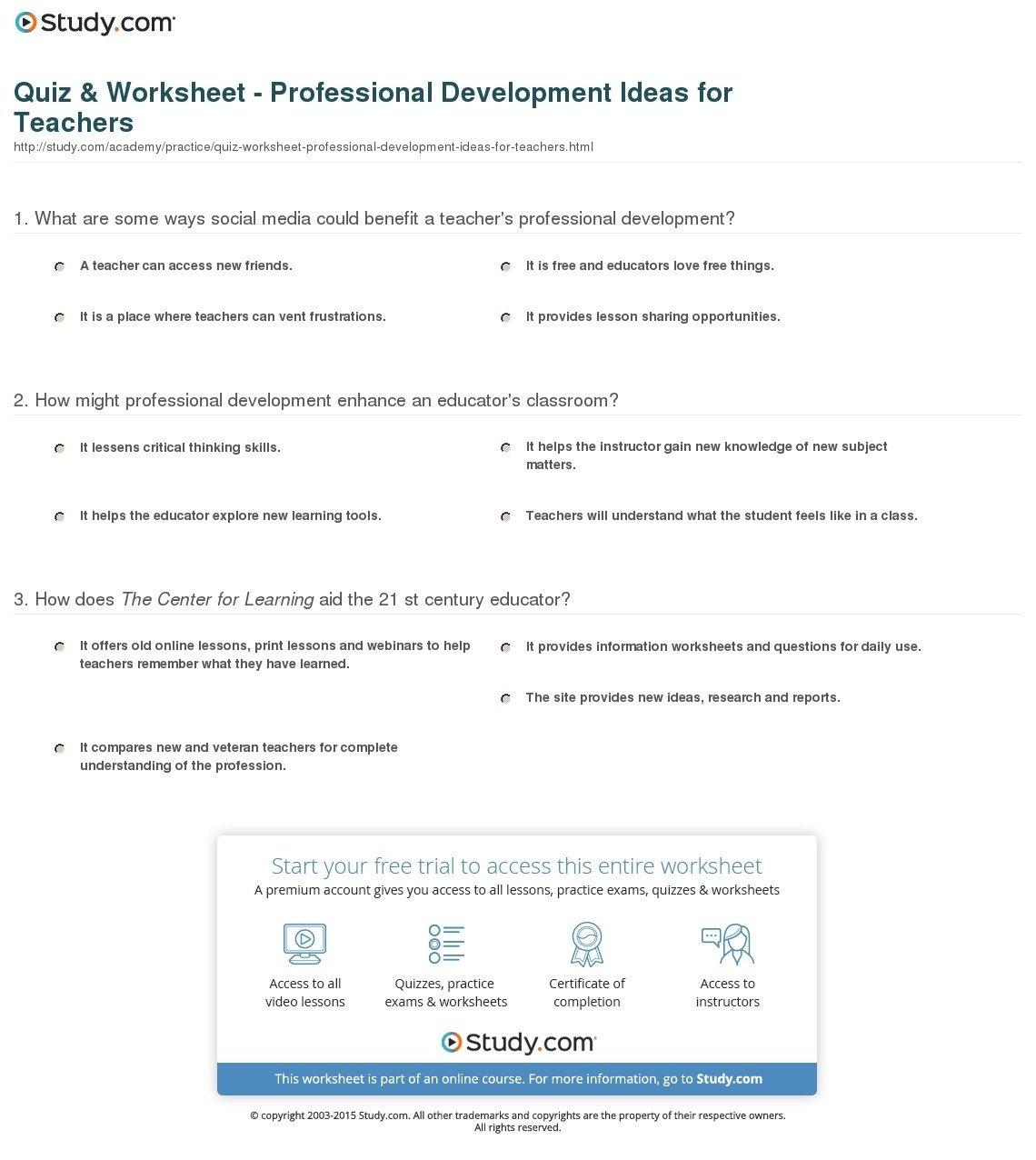10 Perfect Professional Development Ideas For Teachers
