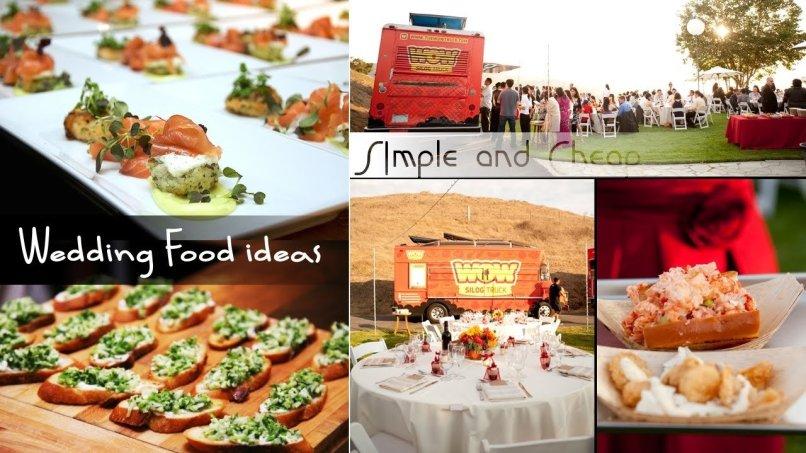 17 + Diy Cheap Wedding Food Ideas Youtube In Beaufiful Cheap Wedding ...