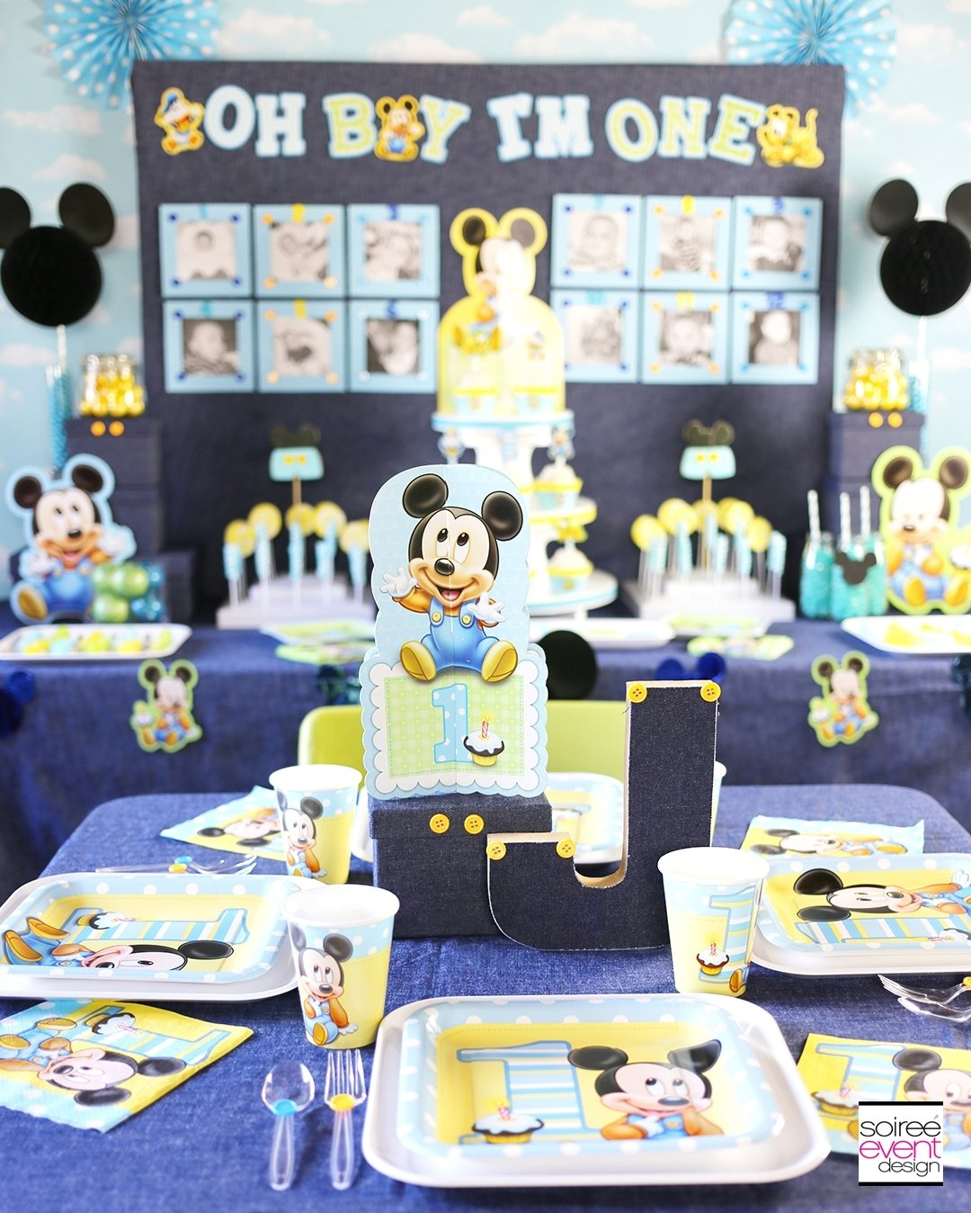 1 Year Old Birthday Party Themes Boys