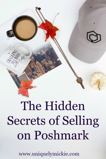 Hidden Secrets of Selling on Poshmark
