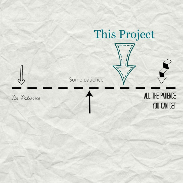 Project patience level